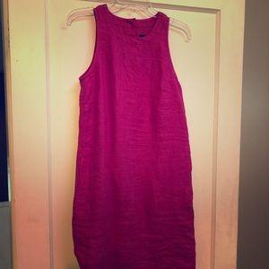 Brand new/linen dress from Jcrew
